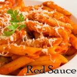 Pasta In Red Sauce   Red Sauce Pasta   Indian Style Tomato Pasta ~ The  Terrace Kitchen