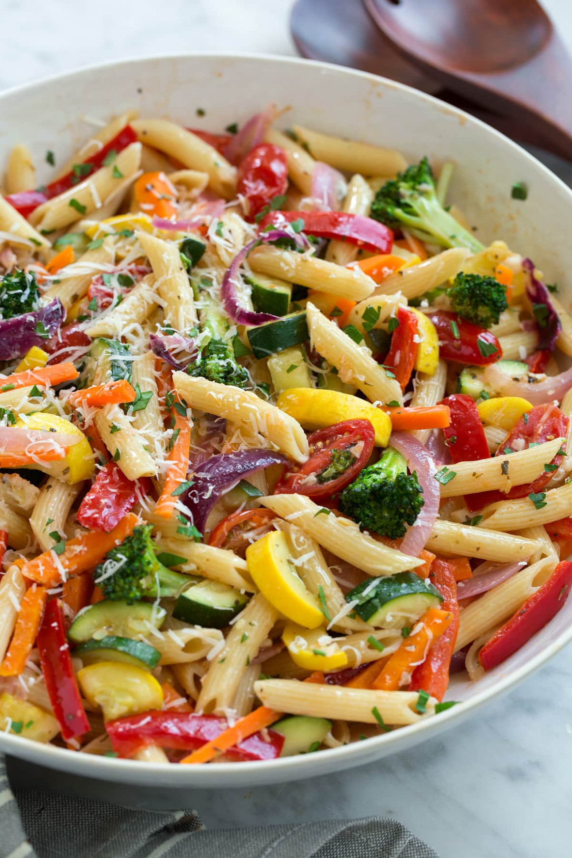 Pasta Primavera (Delicious Easy Recipe!) - Cooking Classy