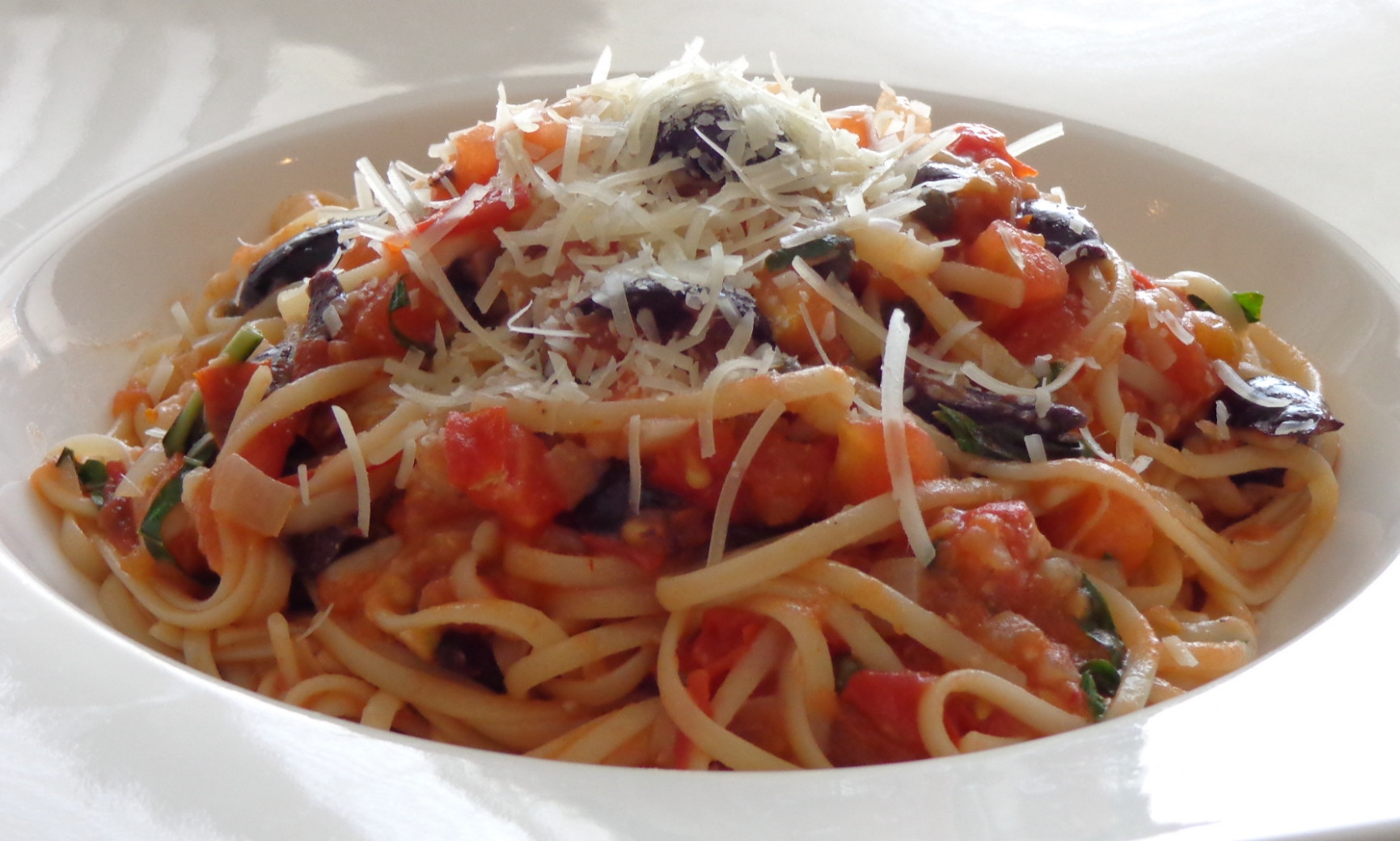 Pasta Puttanesca With Hot Sausage And Bocconcini Recipe …