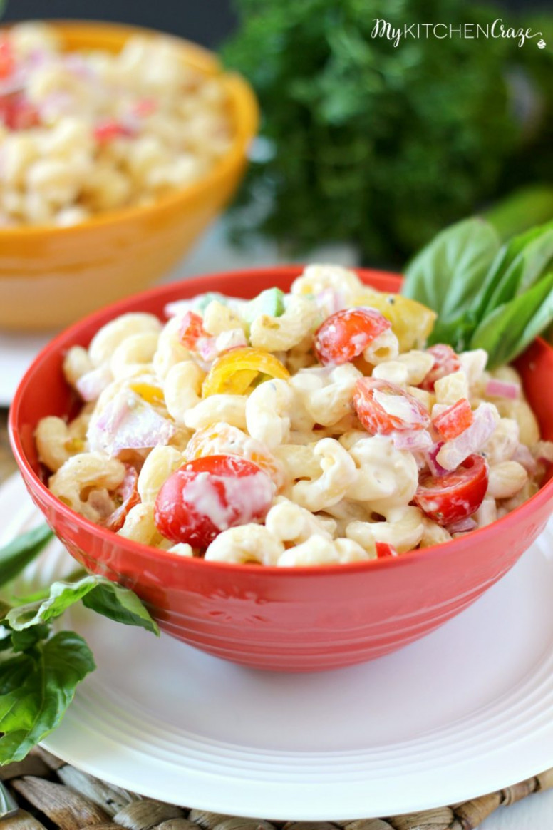 Pasta Salad Lite & Healthy
