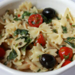 Pasta Salad With Cherry Tomatoes And Feta Cheese