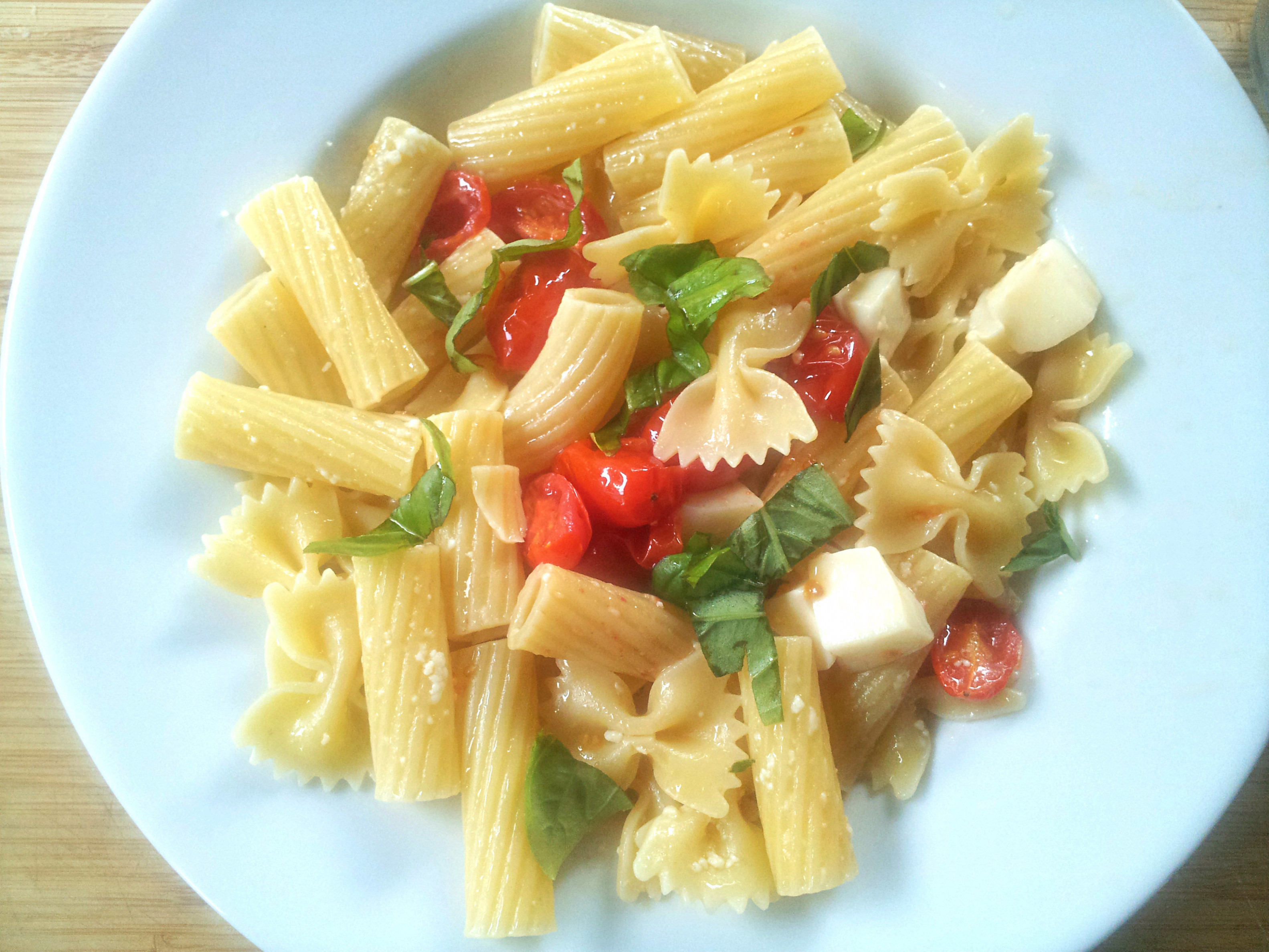 Pasta tricolore (Italian flag pasta) recipe - All recipes UK