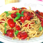 Pasta With Basil & Charred Skillet Tomatoes
