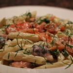 Pasta With Smoked Salmon And Cream Cheese | Constantly Cooking
