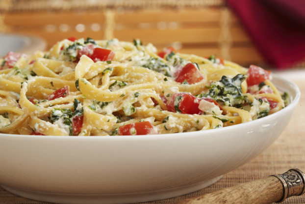 Pasta with Spinach and Ricotta Cheese Recipe - Kraft Recipes