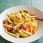 Pasta With Tomatoes, Squashes, And Blossoms Recipe …