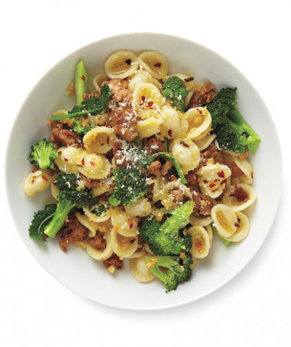 Pasta With Turkey and Broccoli Recipe | Real Simple
