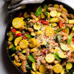 Pasta with Zucchini and Tomatoes - iFOODreal - Healthy ...