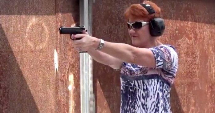 Pauline Hanson's plans shot down after 'Dirty Harry' day ...