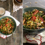 Peanut And Corn Chaat Diptych 1