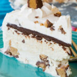 Peanut Butter Cup No Churn Ice Cream Cake – Cupcakes …