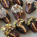 Peanut Butter Stuffed Chocolate Covered Dates | Butter …