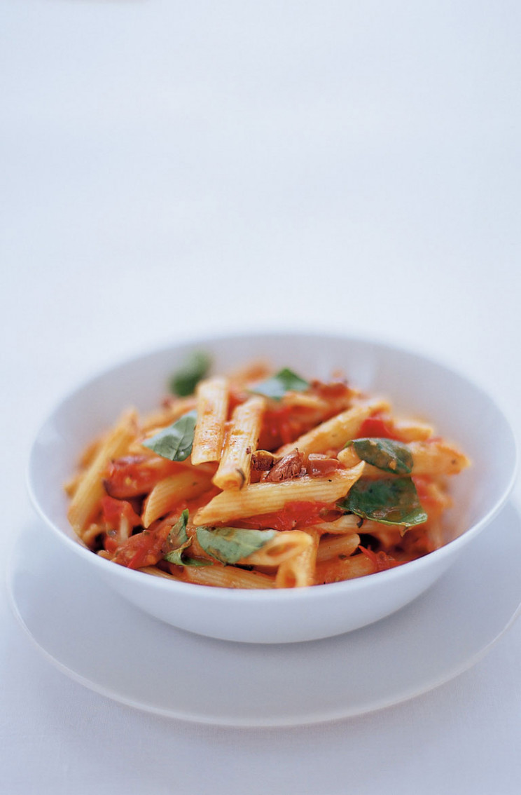 Penne Pasta & Tomato | Pasta Recipes | Jamie Oliver Recipes