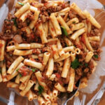 Penne Pasta With Meat Sauce Recipe | SimplyRecipes