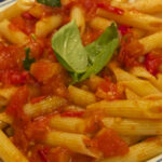 Penne With Quick Tomato Sauce