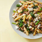 Penne With Sausage, Broccoli Rabe, Chiles & Mint