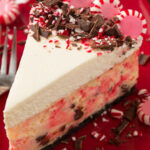 Peppermint Bark Cheesecake | RecipeLion