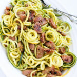 Pesto Zucchini Noodles Recipe With Chicken Sausage …