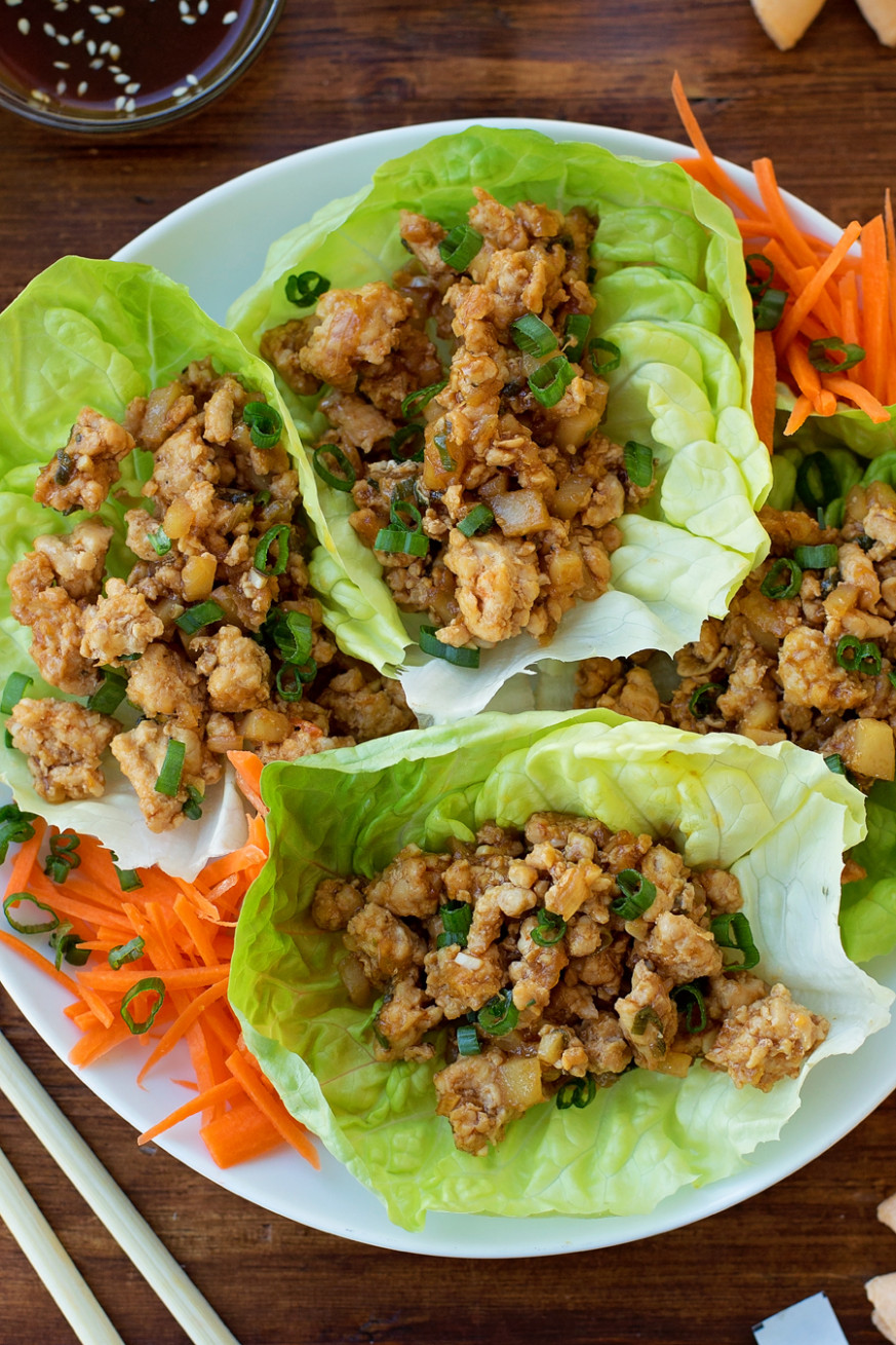 PF Chang's Chicken Lettuce Wraps recipe | Lil' Luna