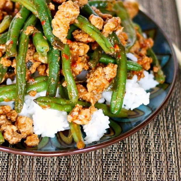 Pin by darrick McMillion on Chinese green beans and rce ...