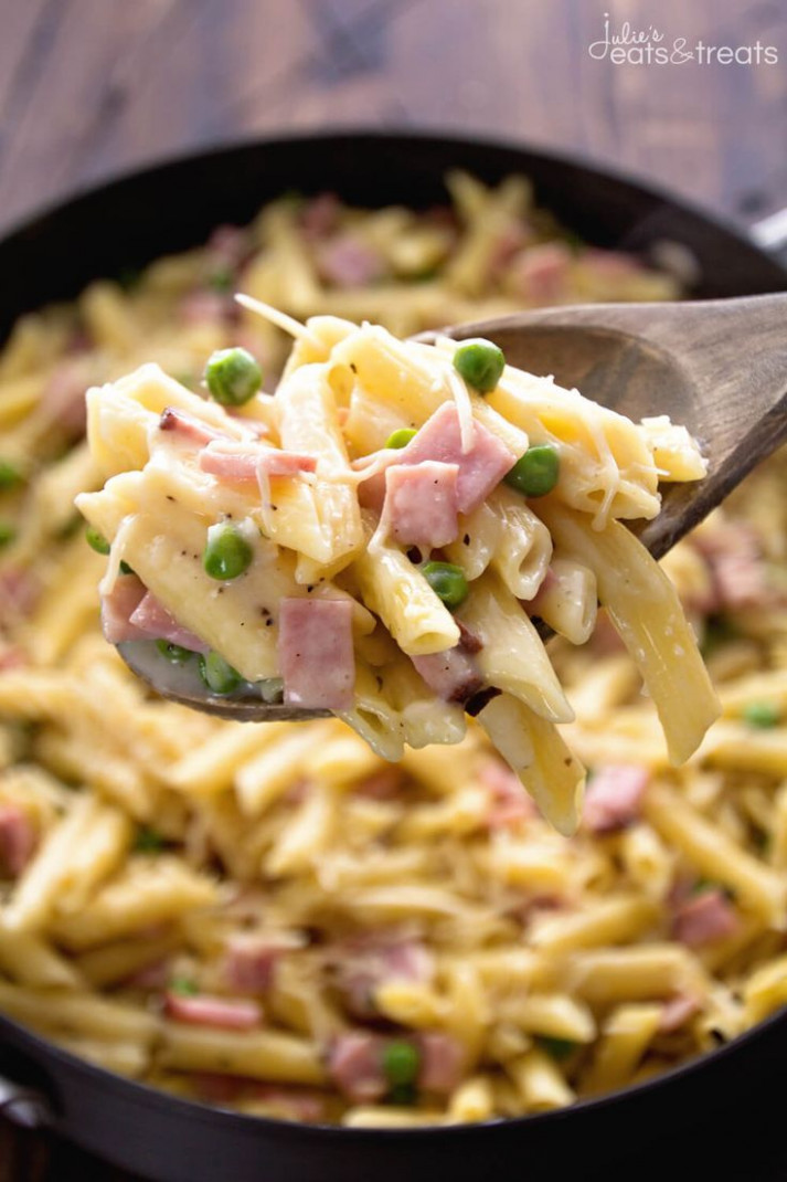 Pin by Well Plated on One Pot Meals | Pasta recipes, Ham ...