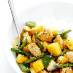 Pineapple Ginger Chicken Stir Fry