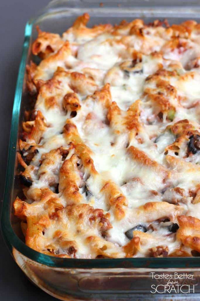 Pizza Casserole Recipe - Tastes Better From Scratch