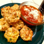Pizza Cauliflower Bites, Delicious Hit!
