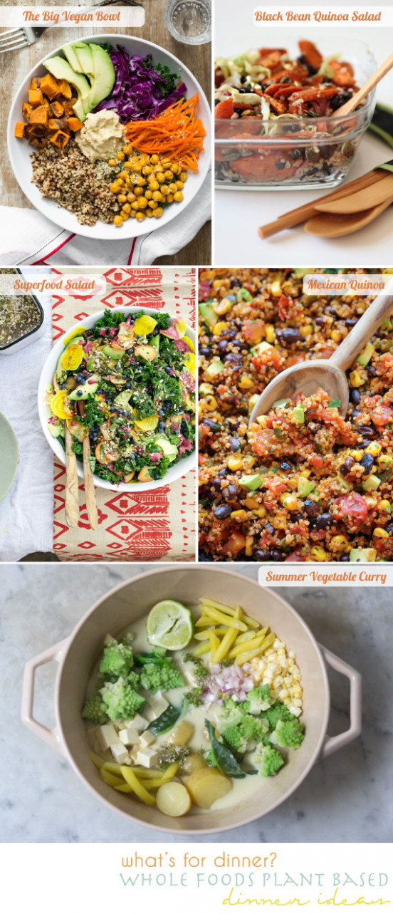 plant based dinner ideas 6.6