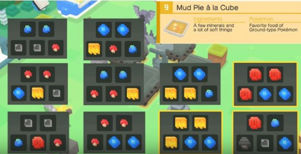 Pokémon Quest Cooking Recipes And Ingredients Guide