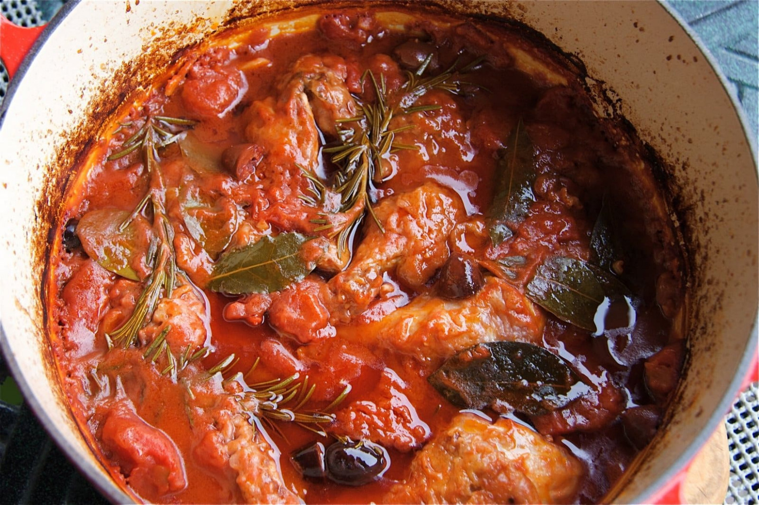 Pollo alla Cacciatore (Hunter's Chicken Stew) - The ...