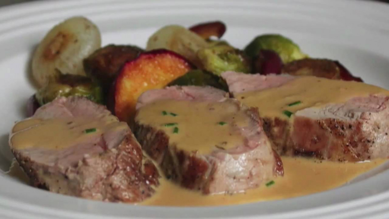 Pork Tenderloin Diablo Recipe - Spicy Pork Diablo - Pork ...