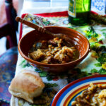 Porto-style tripe and white bean stew (tripas a moda do ...