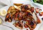Portuguese style roast chicken pieces