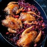 Pot Roasted Partridges With Red Cabbage, Garlic And …