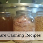 Pressure Canning Recipes The Homesteading Hippy