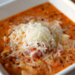 Pressure Cooker Lasagna Soup – Who Needs A Cape?