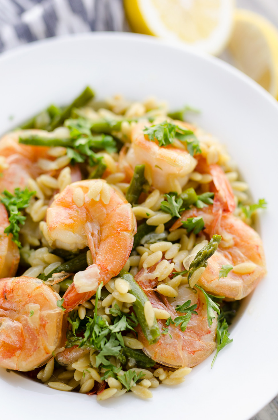 Pressure Cooker Lemon Butter Shrimp & Orzo Dinner ...
