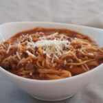 Pressure Cooker One Pot Spaghetti Recipe | CDKitchen