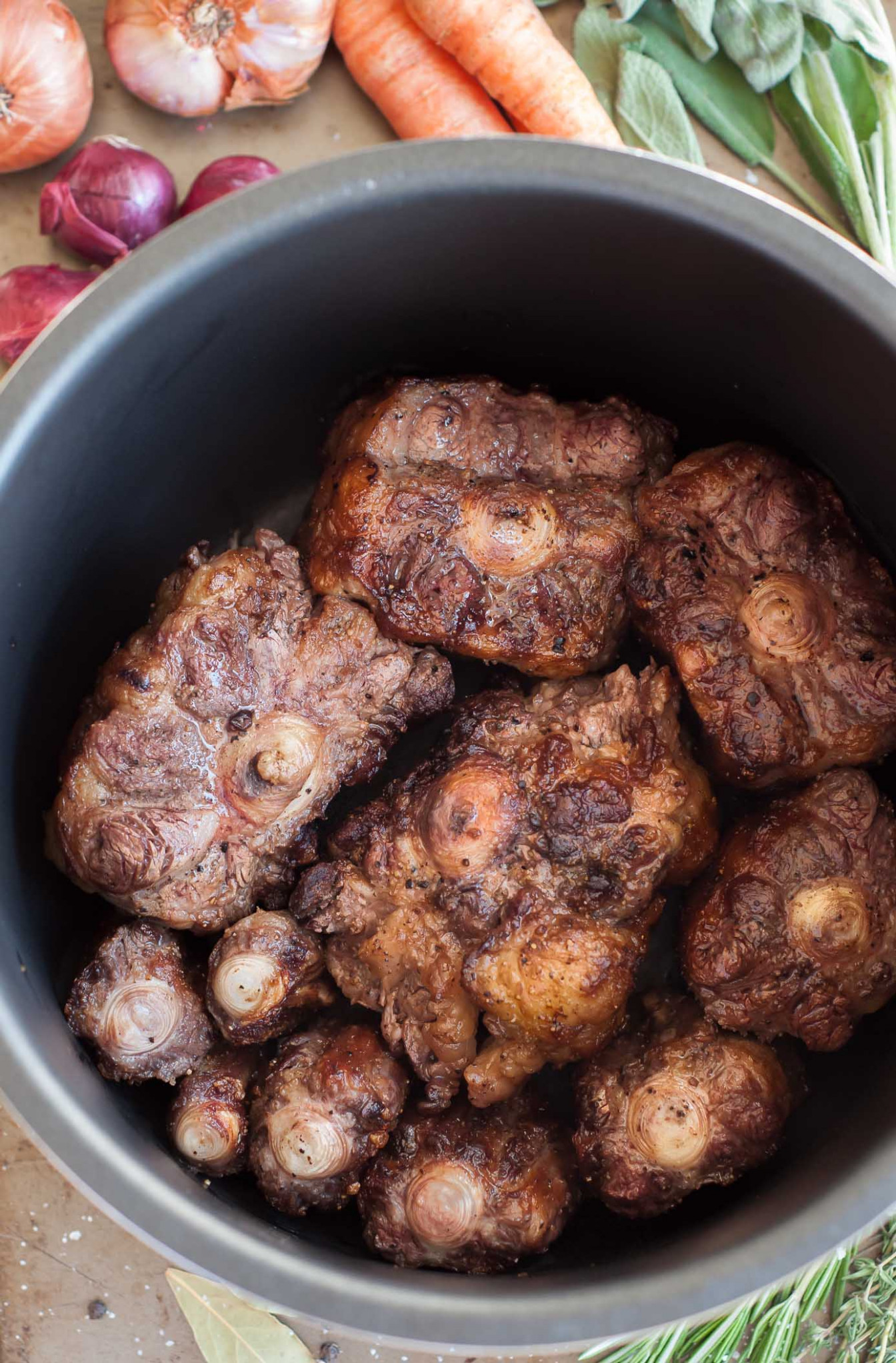 Pressure Cooker Oxtail Stew - GastroSenses