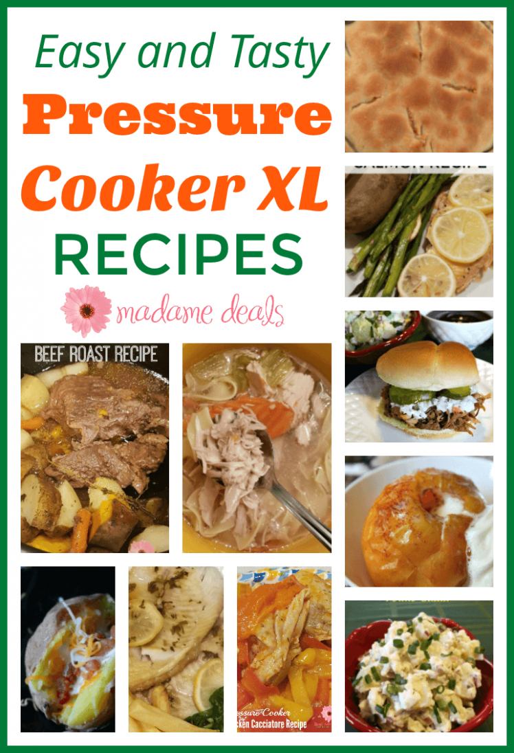 Pressure Cooker XL Recipes - Real Advice Gal