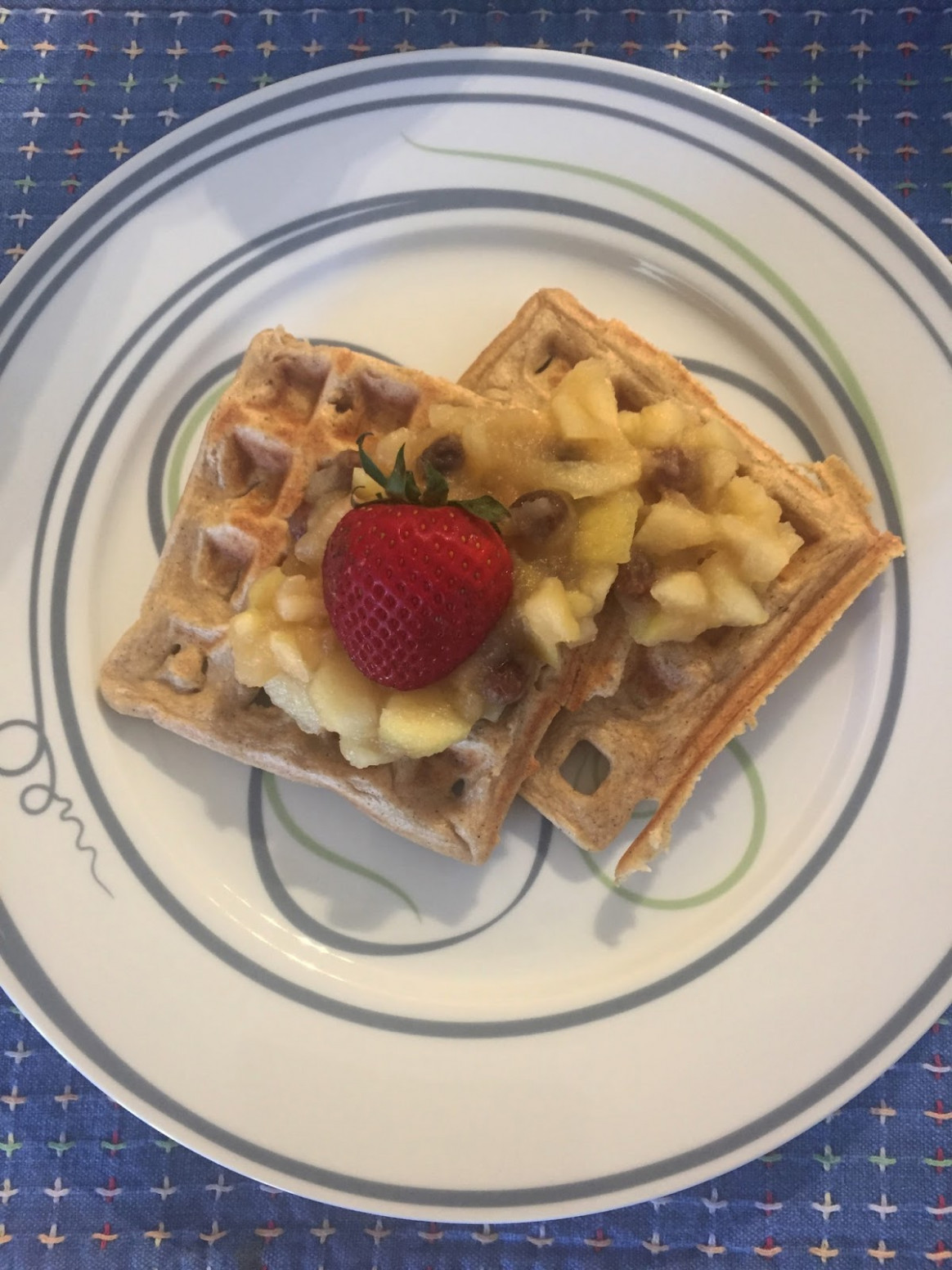 Product Review & Healthy Recipe: Cuisinart Waffle Maker ...