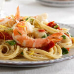 ProteinPLUS® Thin Spaghetti With Bay Scallops, Shrimp, And …