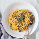Pumpkin Creme Fraiche Pasta With Sage – Foolproof Living