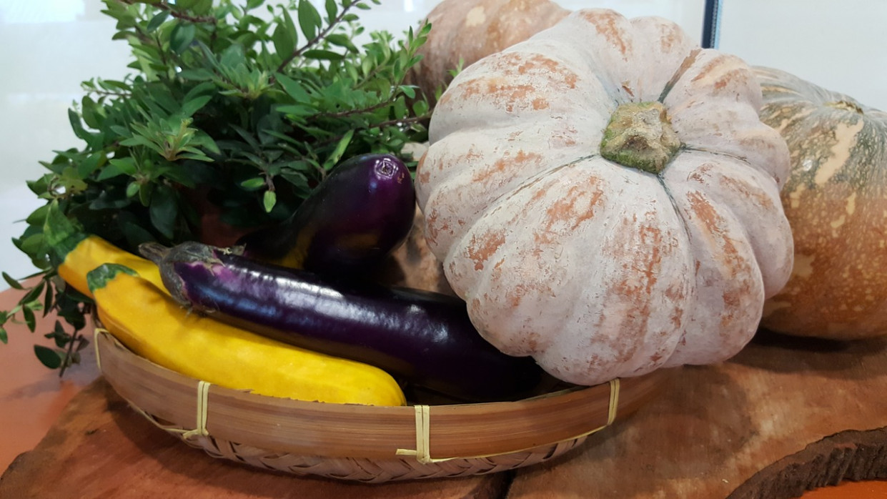 Pumpkin, Veg, Eggplant, Healthy, Food