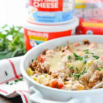 Quick And Easy Amish Hamburger Casserole – The Seasoned Mom
