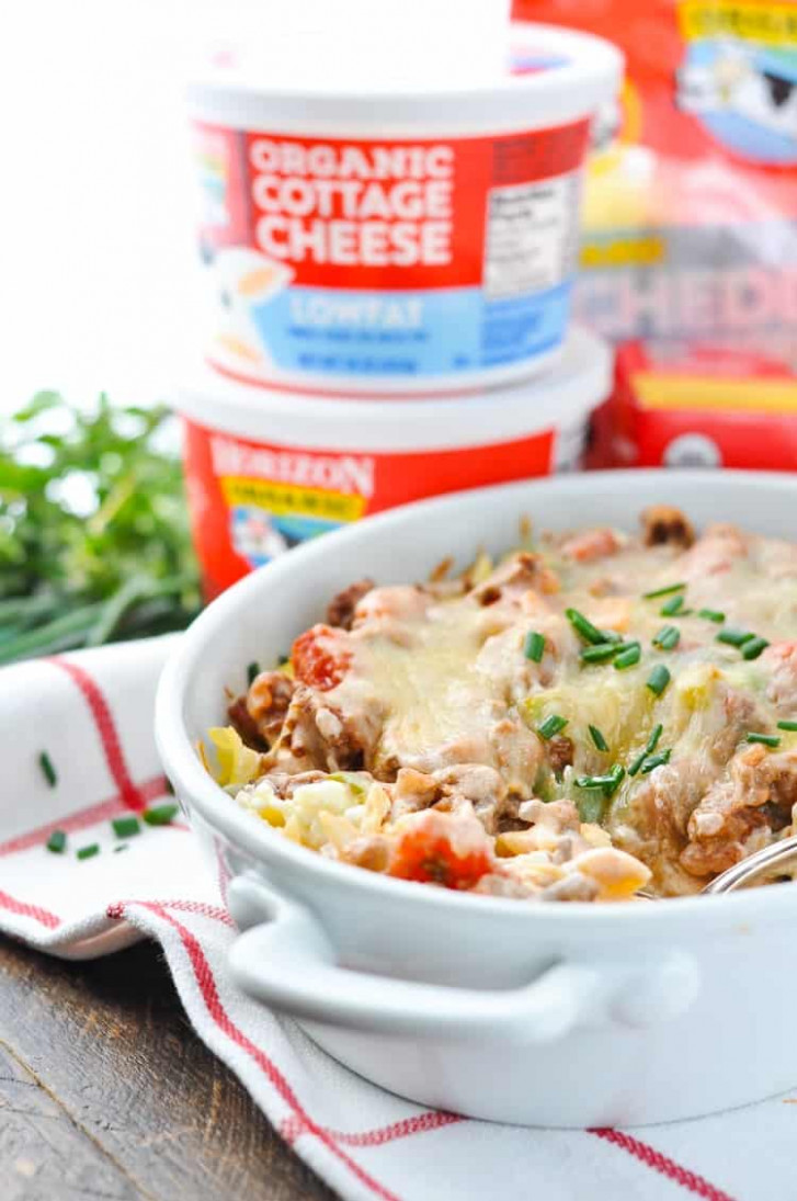 Quick and Easy Amish Hamburger Casserole - The Seasoned Mom