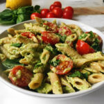 Quick and Easy Basil Avocado Pasta | Vegan + Gluten free ...