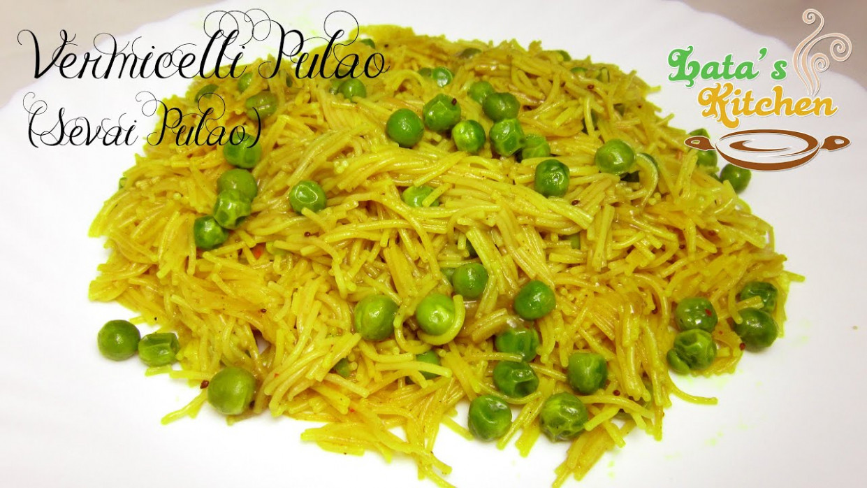 Quick and Easy Breakfast Recipe - Indian Sevai Pulao ...