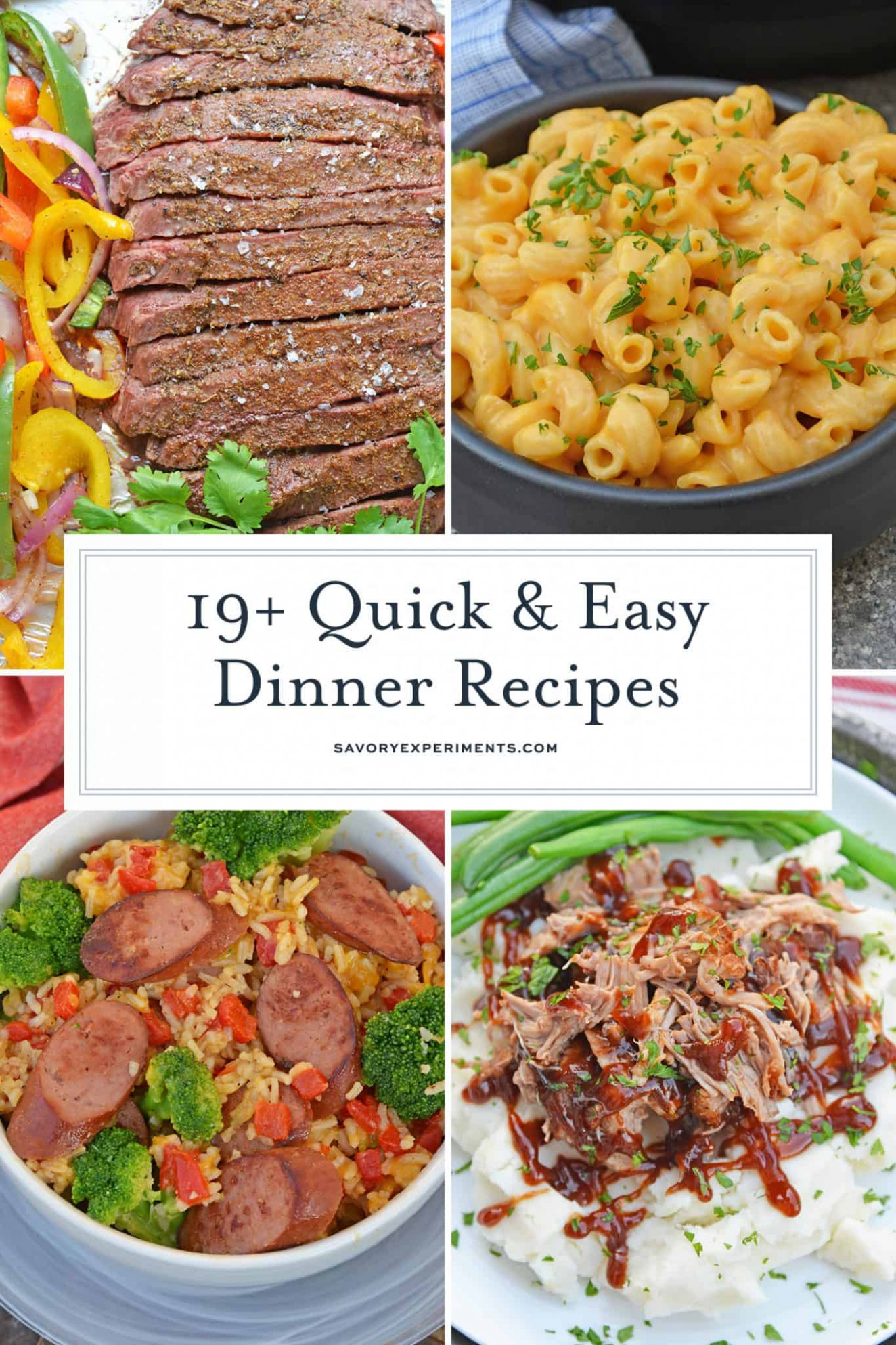 Quick And Easy Meals – Meals In 10 Minutes Or Less